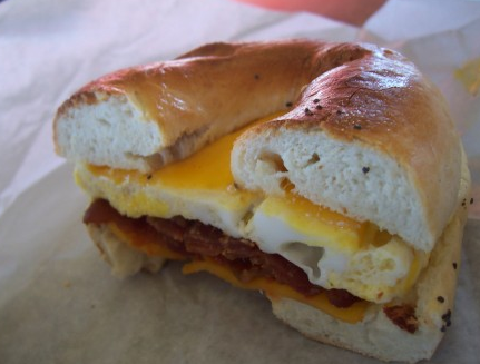 breakfaast bagel
